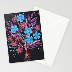 Night Bouquet Stationery Cards
