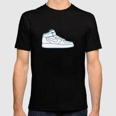 #13 Nike Airforce 1 Black MEDIUM Mens Fitted Tee