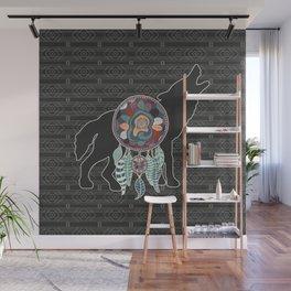 Wolf Native American Animal Spirit Dream Catcher Wall Mural