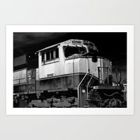 Old Train Art Print