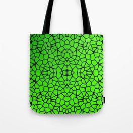 Cut Glass Mosaic Look Tote Bag