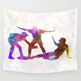 baseball players 03 Wall Tapestry