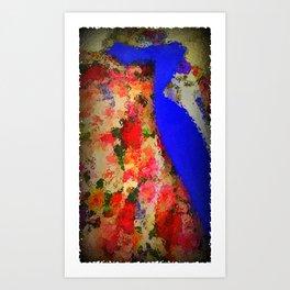 Summer Of Love: The Flower Power Shirt & Tie Art Print