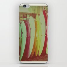 Surfboards iPhone & iPod Skin