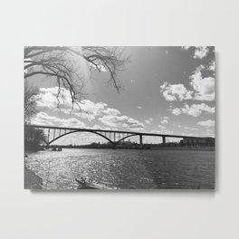 River Front St. Paul Metal Print