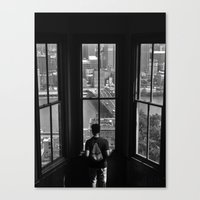 pittsburgh Canvas Prints featuring Pittsburgh by Mithun Pota