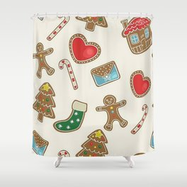 Christmas Now Shower Curtain