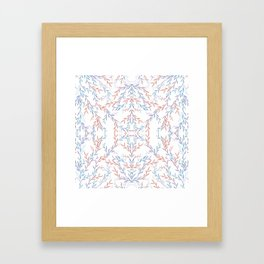 Leafy Vines Framed Art Print