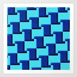 Geometrix 163 Art Print