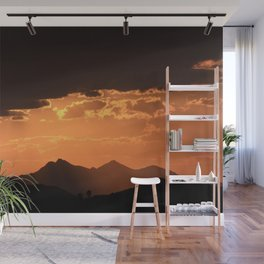 Desert Mountain Sunset VI Wall Mural