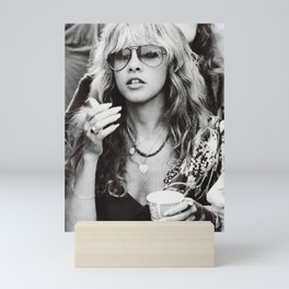 Stevie Nicks Graphic Hippie Mini Art Print