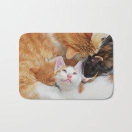 Cat family Bath Mat