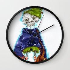 Skinny Skeleton Kid Wall Clock