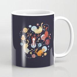Catstronauts - retro catastronaut pattern Coffee Mug
