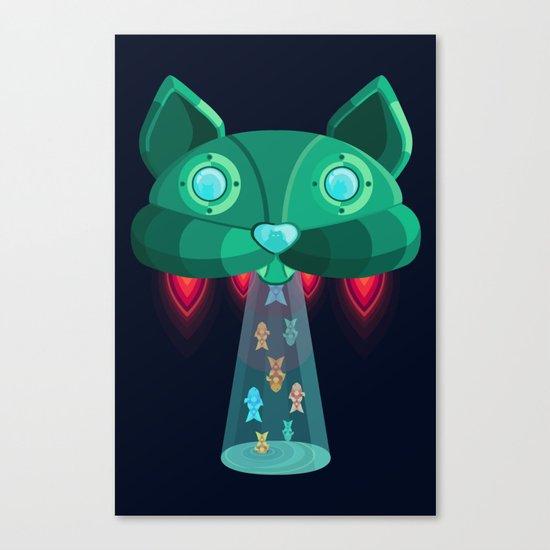 CatShip Canvas Print