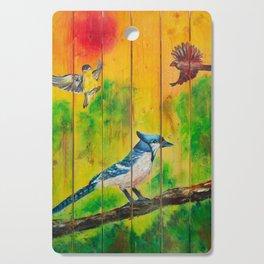 Three Little Birds Cutting Board
