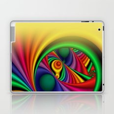 trapped colors window curtain -2- Laptop & iPad Skin