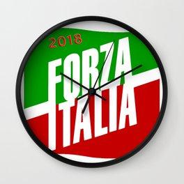 Forza Italy 2018 Wall Clock