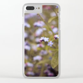 intoxicating flora Clear iPhone Case