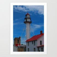 Whitefish Point Lighthouse III Art Print