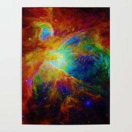 Orion NEBula  : Colorful Galaxy Poster