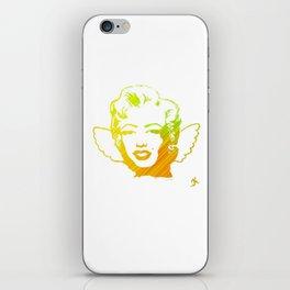 Space Angel Marilyn  iPhone Skin