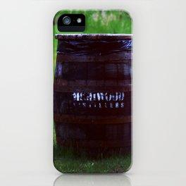 Whiskey Keg iPhone Case