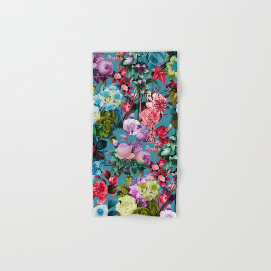 SUMMER BOTANICAL V Hand & Bath Towel