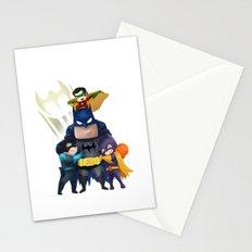 Bat-Family Stationery Cards