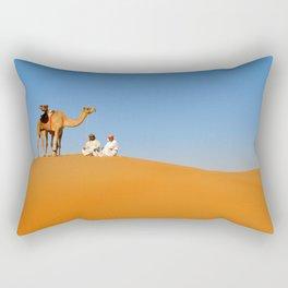 Desert Walk Rectangular Pillow