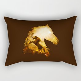 Wild Spirit Rectangular Pillow