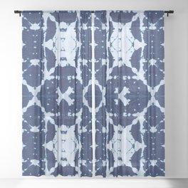 X Cloth Shibori Sheer Curtain
