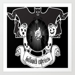 Hallowed Capriccio logo Art Print