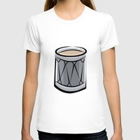 drum T-shirts featuring Drum by shopaholic chick