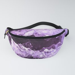 Amethyst Crystal Cave Fanny Pack