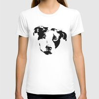 pit bull T-shirts featuring Pit Bull by MIX INX