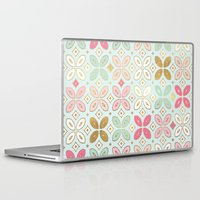 moroccan Laptop & iPad Skins featuring MOROCCAN TILE by Monika Strigel