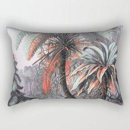 Orange-Beach Rectangular Pillow