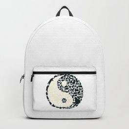 Yin-Yang Cats - FELT Backpack