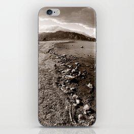 Salton Sea Shore iPhone Skin