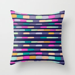 STRIPY Throw Pillow