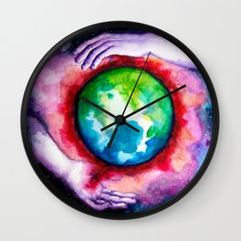 Creation of His Heart Wall Clock