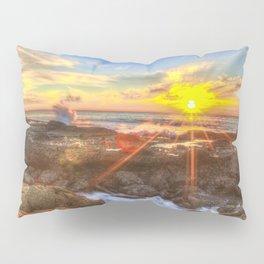 Tide Pool Sunset Pillow Sham