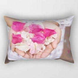 Pedal Fingers Rectangular Pillow