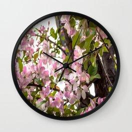 Spring Bouquet Wall Clock