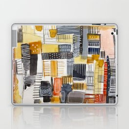 Autumn Rituals Abstract Painting Laptop & iPad Skin