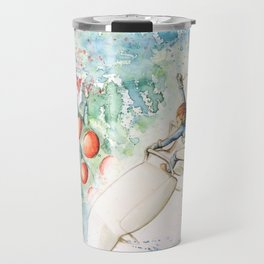 """The flying princess"" Travel Mug"