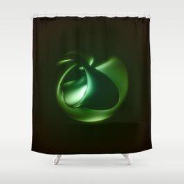 Beginning Shower Curtain