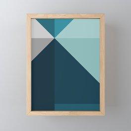 Geometric 1702 Framed Mini Art Print