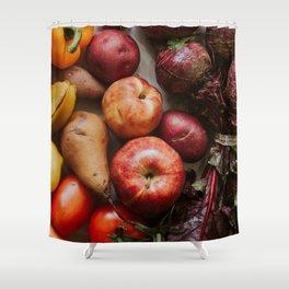 Fresh Reds Shower Curtain